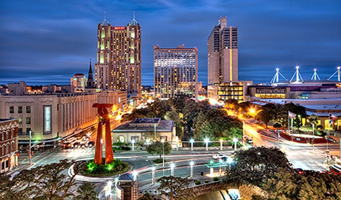Photo of downtown San Antonio